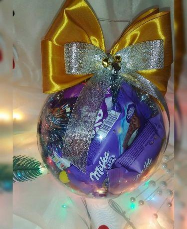 Шар с конфетами, шар с сладостями , сладкий шар