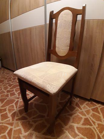 Krzesła drewniane 6 szt komplet