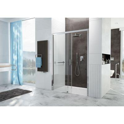 Drzwi prysznicowe Sanplast Free Zone NOWE wnękowe 120cm lewe przesuwne