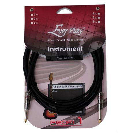 Kabel gitarowy Ever Play Profi 1 JACK - JACK 5M