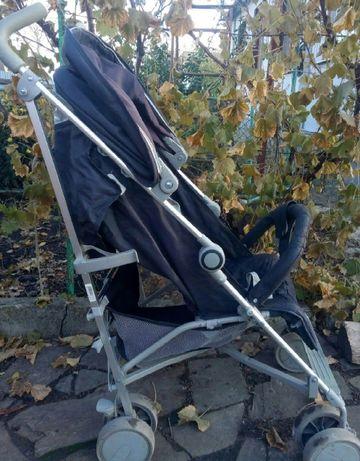 4- BABY - ЧЕРНАЯ - коляска в хорошем состоянии