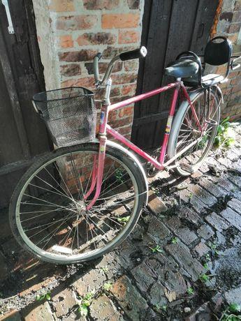 Велосипед Украина с корзиной и детским сидением