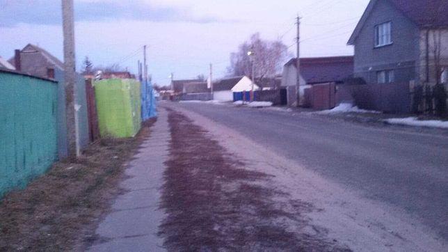 Броварський р-н. с. Богданівка. 37сот Б. Хмельницького, фасад, асфальт
