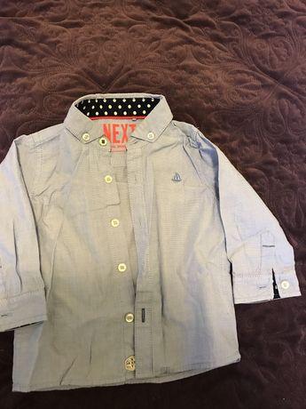 Нарядная рубашка Next на первый юбилей 1 годик