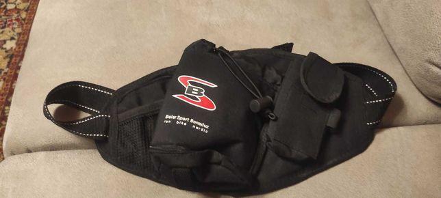 Спортивная вело сумка на пояс