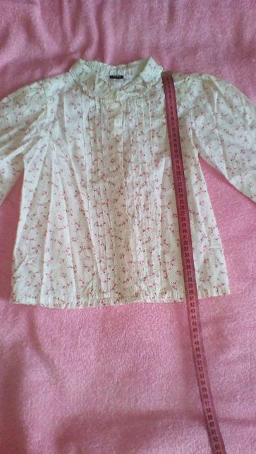 Блузка для девочки 104р.