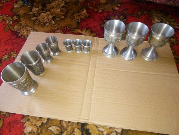 Продам набор антиквариат/антикваріат/кухлі/чаши/стопки/стакани/бокали