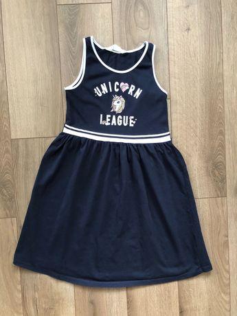 Сарафан платье h&m 8-10 лет 134-140 см