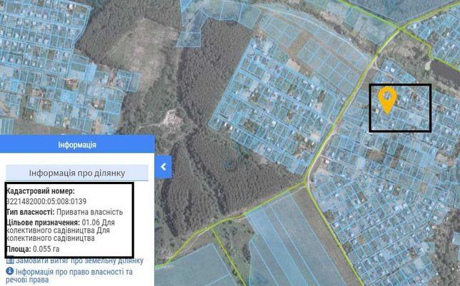 Земельна ділянка  0,55 ГА (Глеваха)