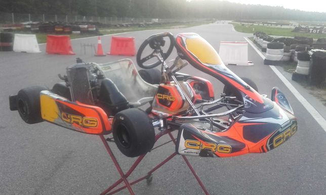 Gokart Crg 2017 Rotax 125 Senior Max Evo Alfano spalinowy