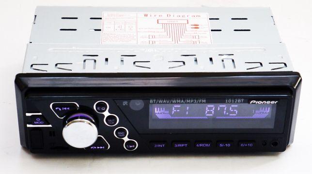 Магнітола Pioneer 1012BT з Bluetooth