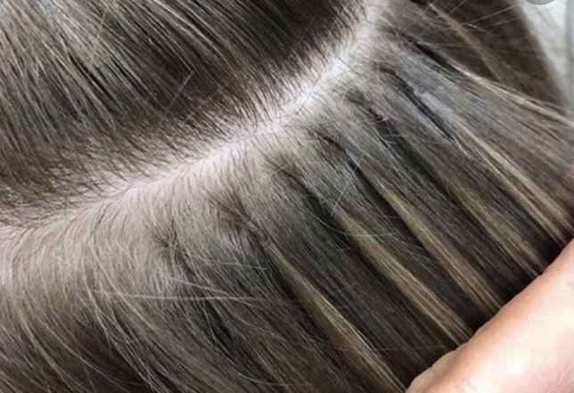 Модель на наращивание волос