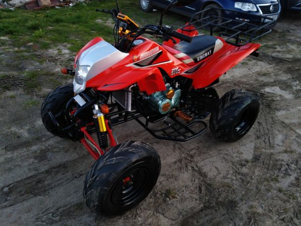 Quad BASHAN 200cc super stan ciecz zarejestrowany 4+1
