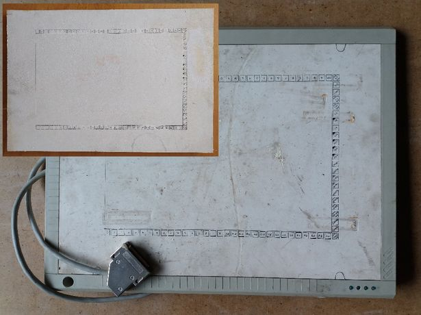 Графический планшет СМ6422 (Robotron К 6405) (плюс лицевая панель)