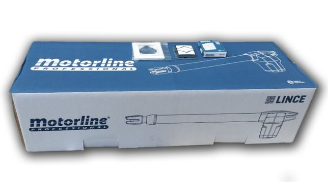 Kit Motorline Lince 400 p/ portão de batente 2 folhas