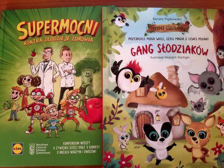 Gang slodziakow supermocni książki lidl biedronka