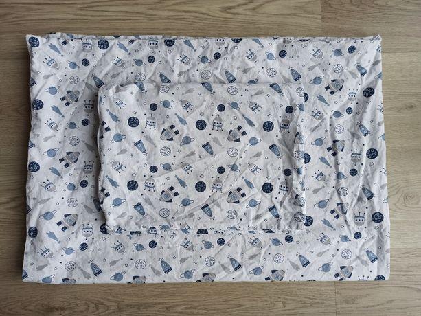 Pościel dla dzieci, 100x140, bawełniania, kosmos