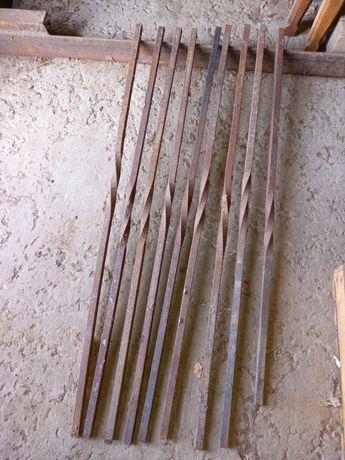 Металл прутья для кованой лестницы