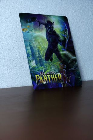 Black Panther lenticular (íman-3D)
