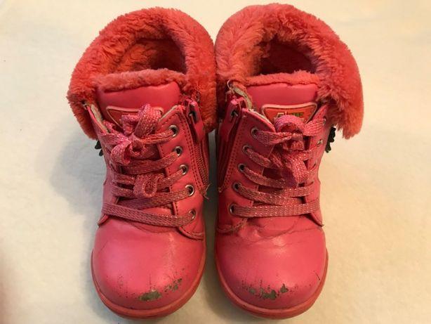 Ботинки зимние для девочки р.25 сапоги зимние