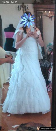 Suknia ślubna 42 piękna