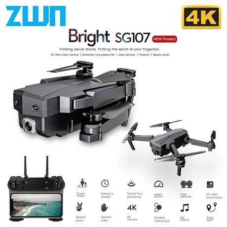 Dron SG 107 nowy 4 baterie kamera 4k