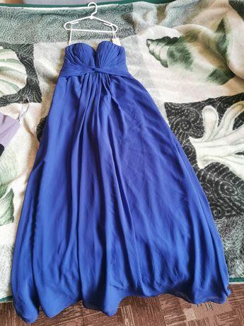 Sprzedam Szafirowa sukienkę roz 36. NOWA