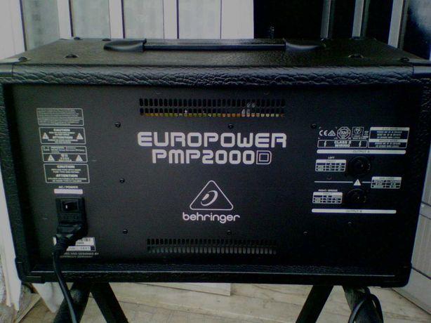 Mesa Amplificada com 2x500 Watts Berhinger PMP 2000D (nova)