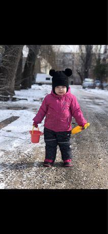 Костюм зимний детский, куртка , комбинезон детский