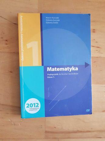 Matematyka Pazdro 1 podręcznik dla liceów i technikum