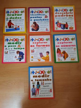 Livros da colecção matemática divertida