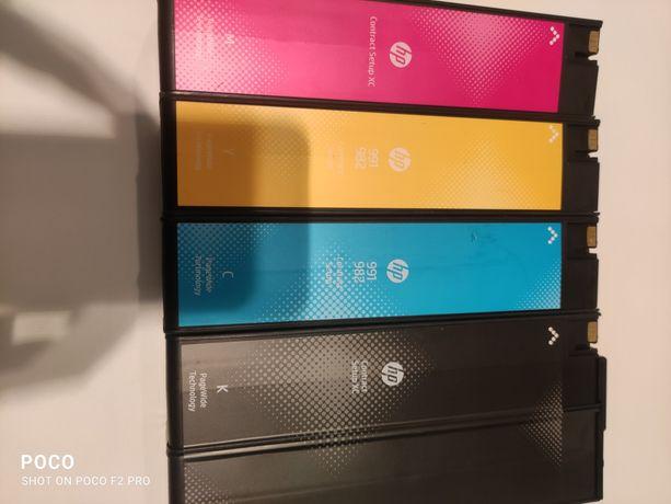 Tusze HP 991/982 B/C/M/Y