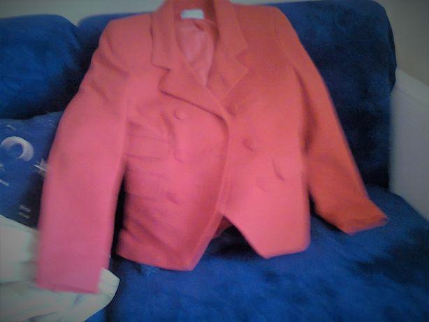 casaco de faxzenda de lã