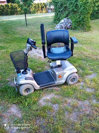 Skuter inwalidzki w dobrym stanie