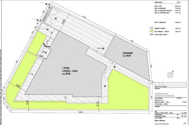 Lote Terreno Urbano C/ Projeto construção Já