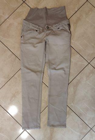 Długie spodnie ciążowe jeansy rurki mama licious M W30 L32 jak nowe