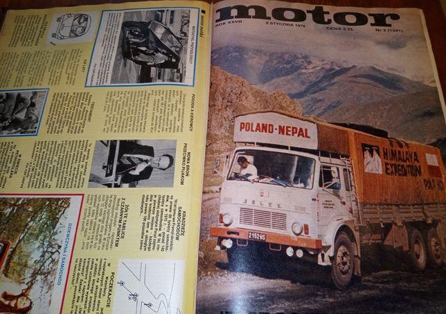 Kolekcja czasopisma tygidnik MOTOR.