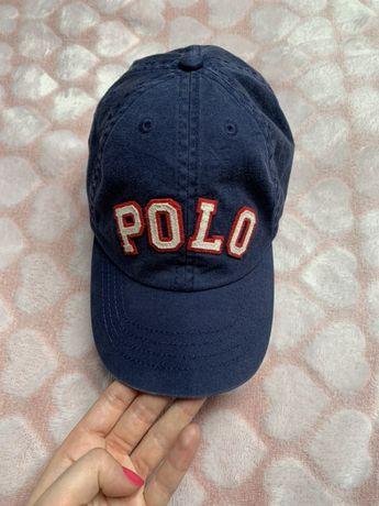 dziecięca czapka z daszkiem marki Polo Ralph lauren, stan jak na zdjęc
