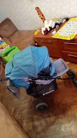 Детская лёгкая прогулочная  коляска All Camino
