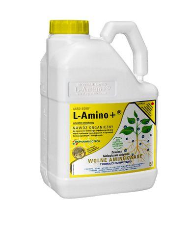 Agro-Sorb L-Amino+ Ekologiczny Nawóz Biostymulujący z Aminokwasami 5L