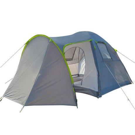 Палатка четырехместная Green Camp 1009-2 с 2 тамбурами