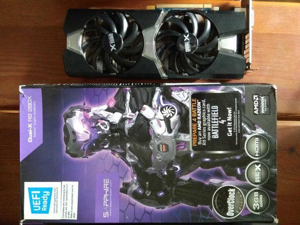 Видеокарта Sapphire Radeon AMD R9 280X Dual-X 3 Gb