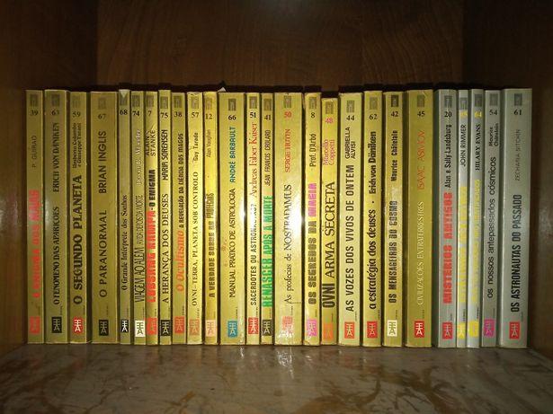 44 livros da Coleção Portas do Desconhecido Europa-America