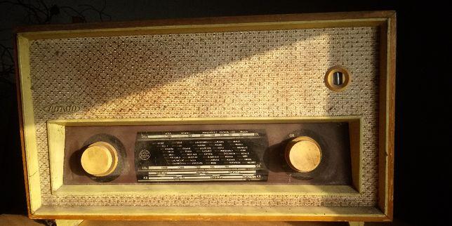 radio lampowe rondo antyk