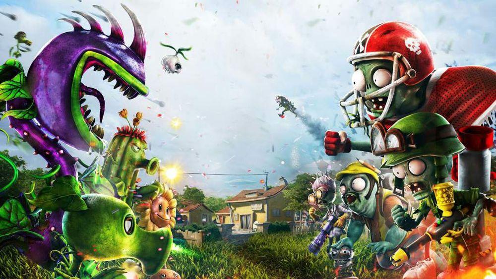 Игра Растения против зомби садовая война 1 на пс 4 Торчин - изображение 1