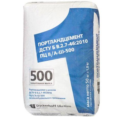 цемент на палетах