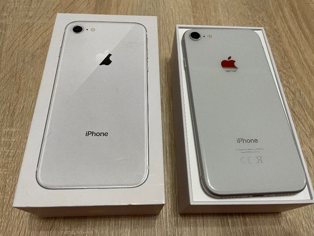 Apple Iphone 8 64GB Silver • • Bateria 86% !! • •