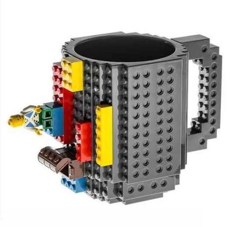 Чашка-конструктор 350 мл лего