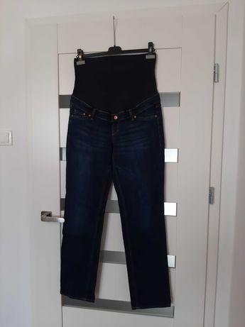 Jeansy ciążowe, granatowe, rozmiar 42