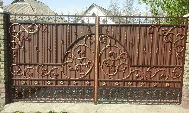 Изготовление ворот,дверей,решеток и др.